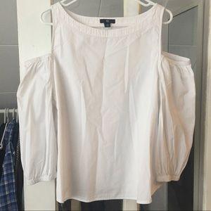 Gap cold shoulder blouse